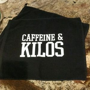 Other - 2 Caffeine and Kilos CrossFit towels